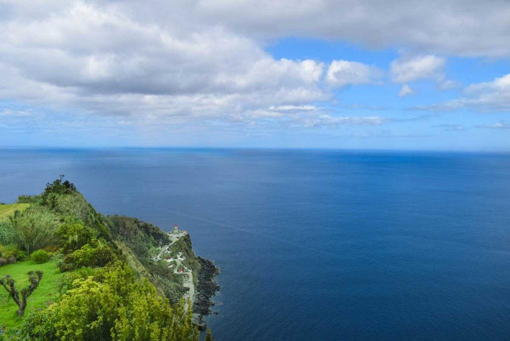 Azores Itinerary Viewpoints overlooking the ocean