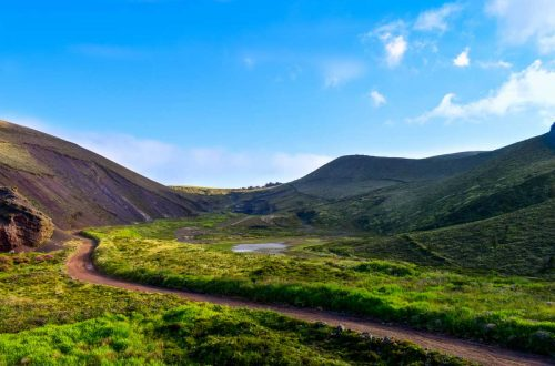 Hiking trail in Sao Miguel