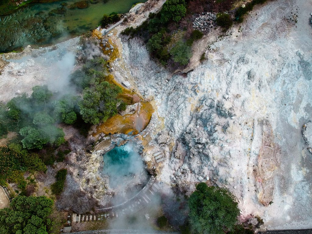 Hot Springs in Furnas