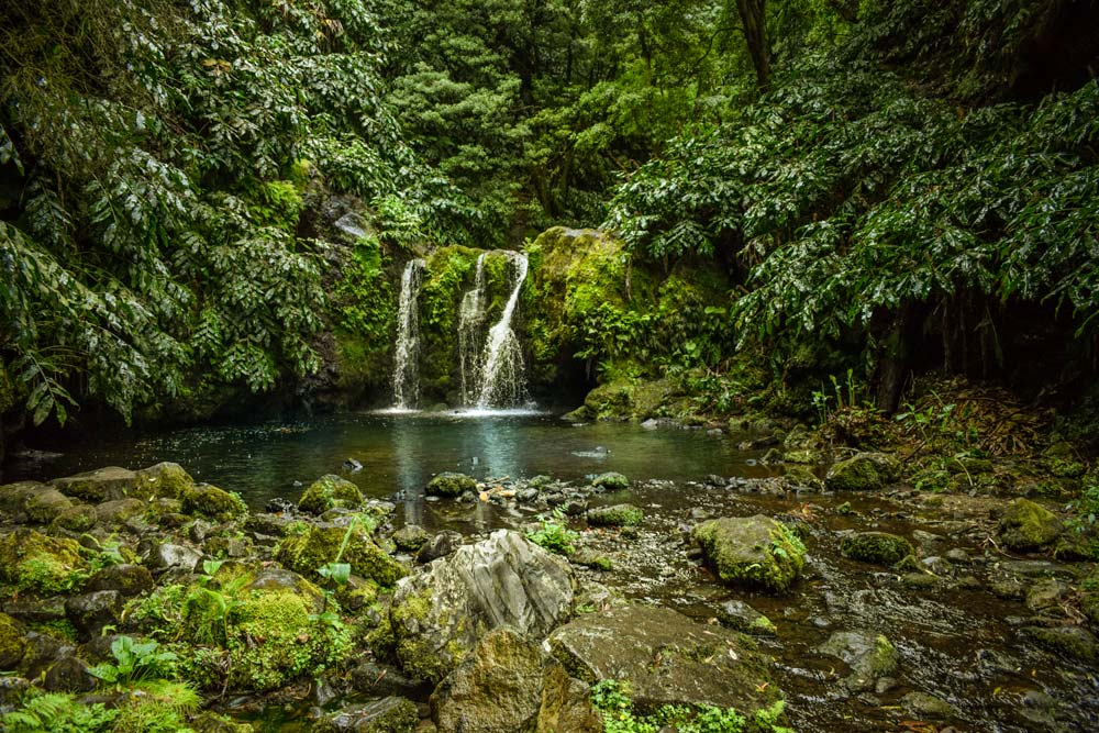 Sao Miguel waterfalls