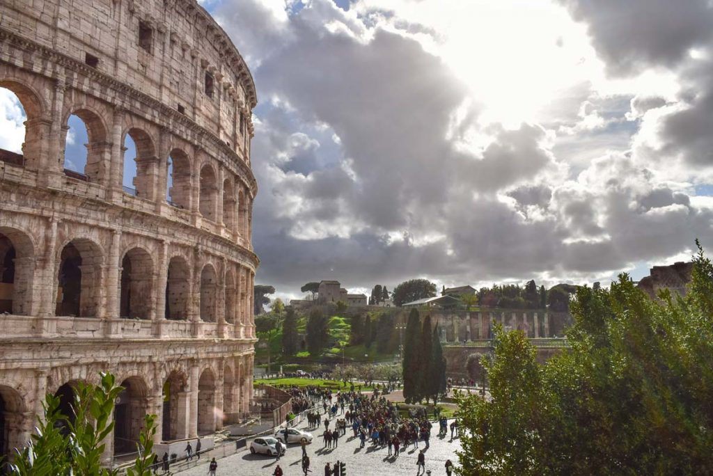 The Colosseum in Rome in 4 days Itinerary
