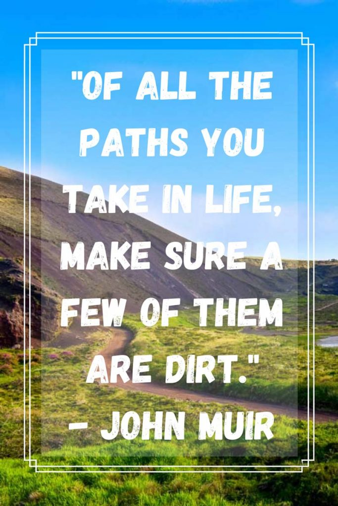 Quotes about hiking