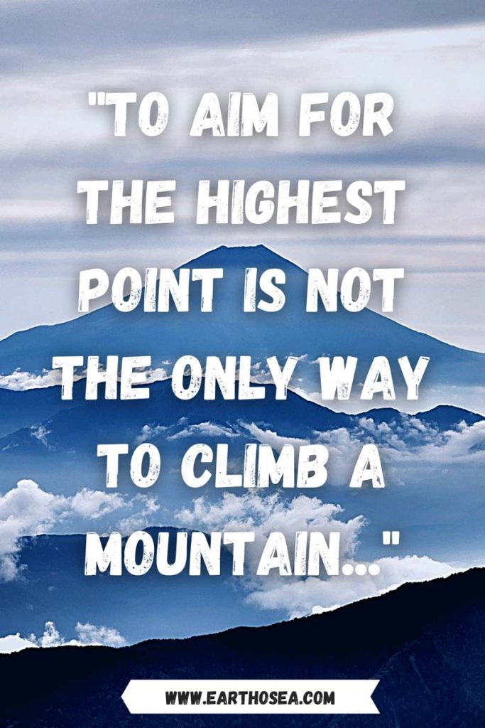Mountain Inspirational Quotes