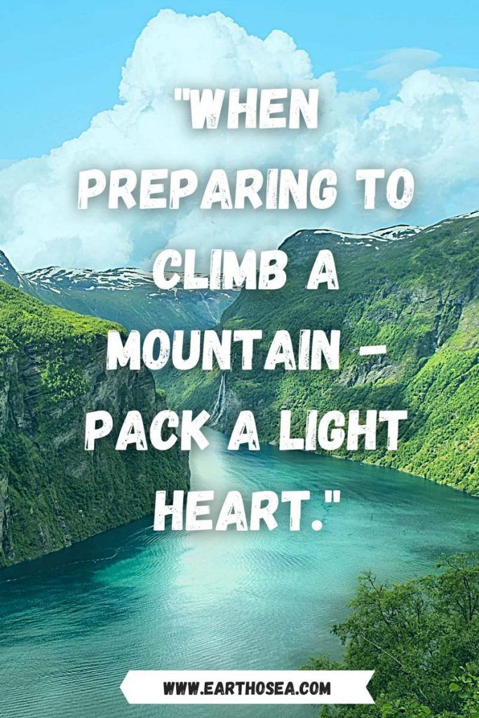 Mountain Quotes Funny