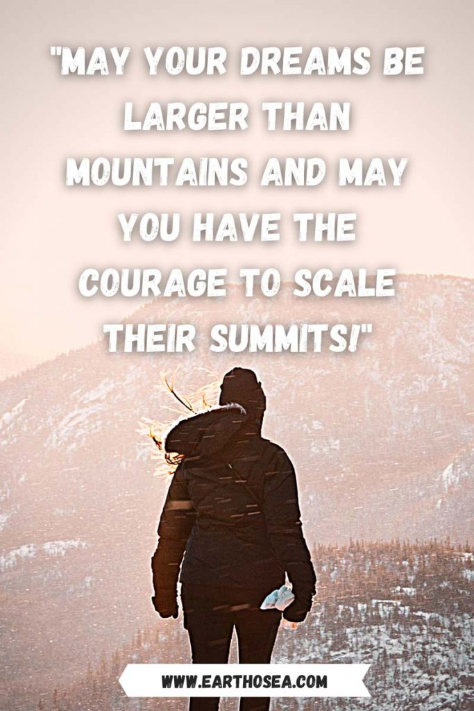 Mountain Quotes Inspirational