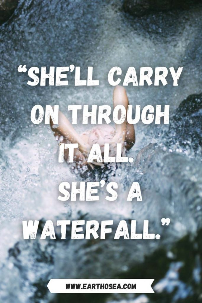 Positive Waterfall Quotes