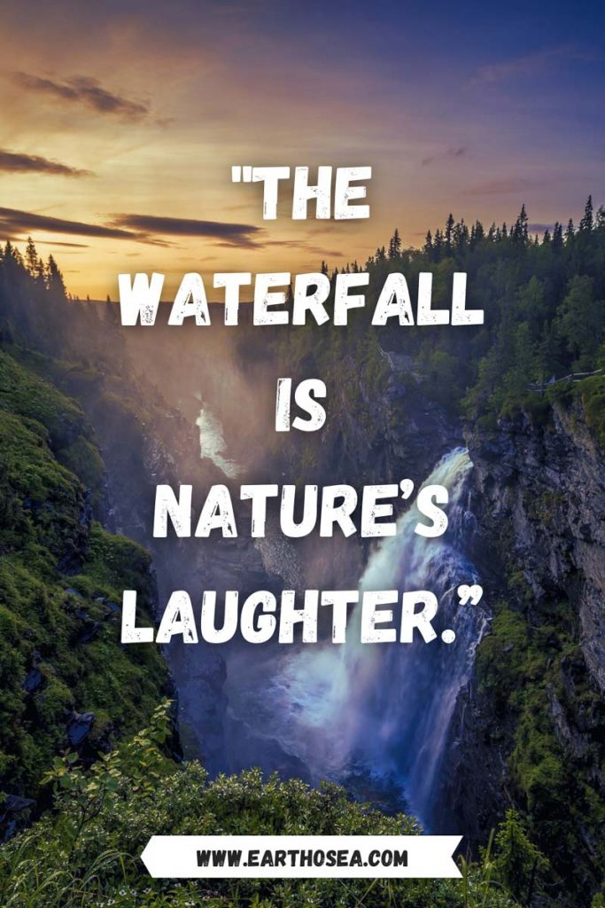 Quotes for waterfalls
