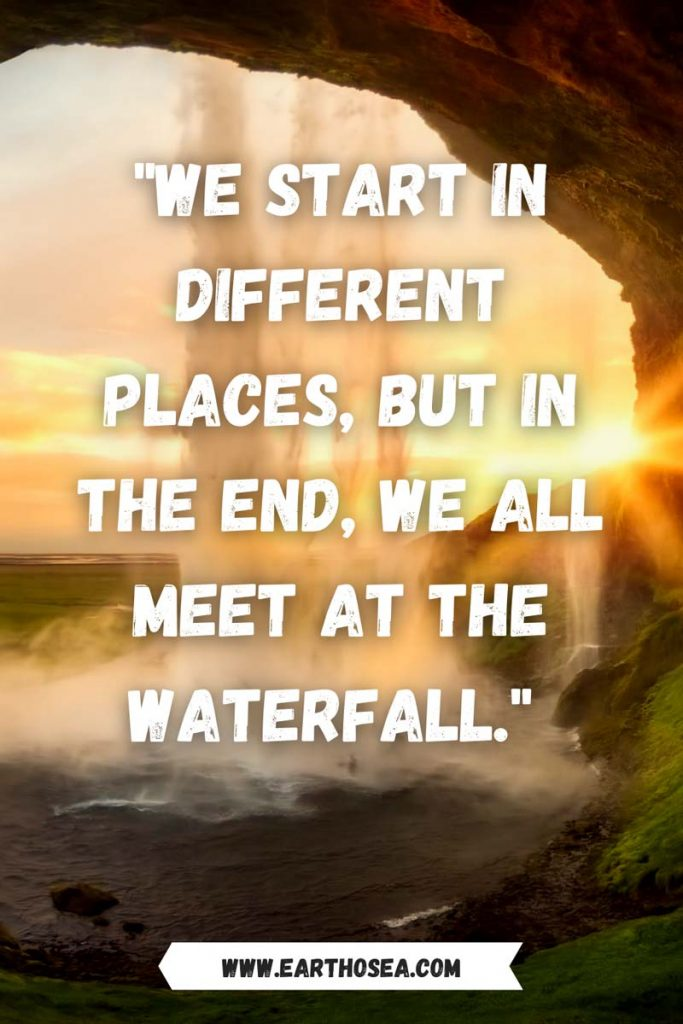 Quotes Waterfall