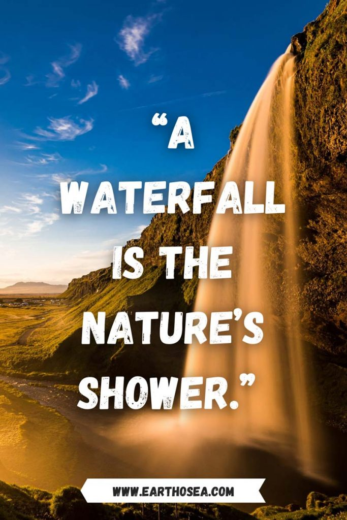 Quotes Waterfalls