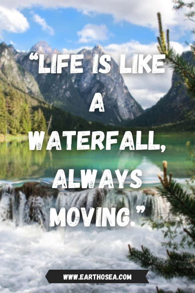 Waterfall Quotes Funny