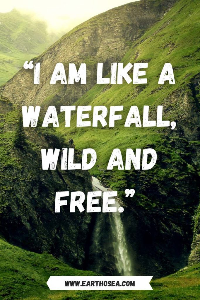 Waterfalls Inspirational quotes