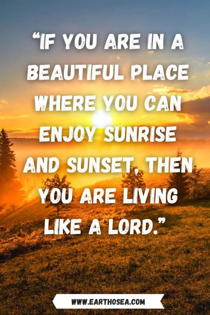 About Sunset quotes
