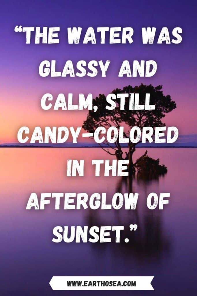 Quotes for sunset