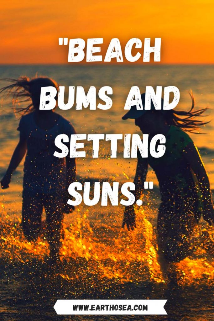 Short sunset quotes