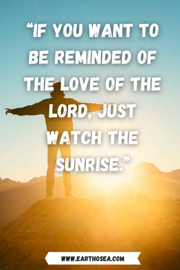 Sunrise and sunset quotes