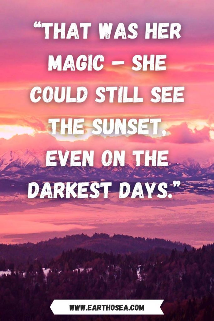 Sunset quotes for instagram