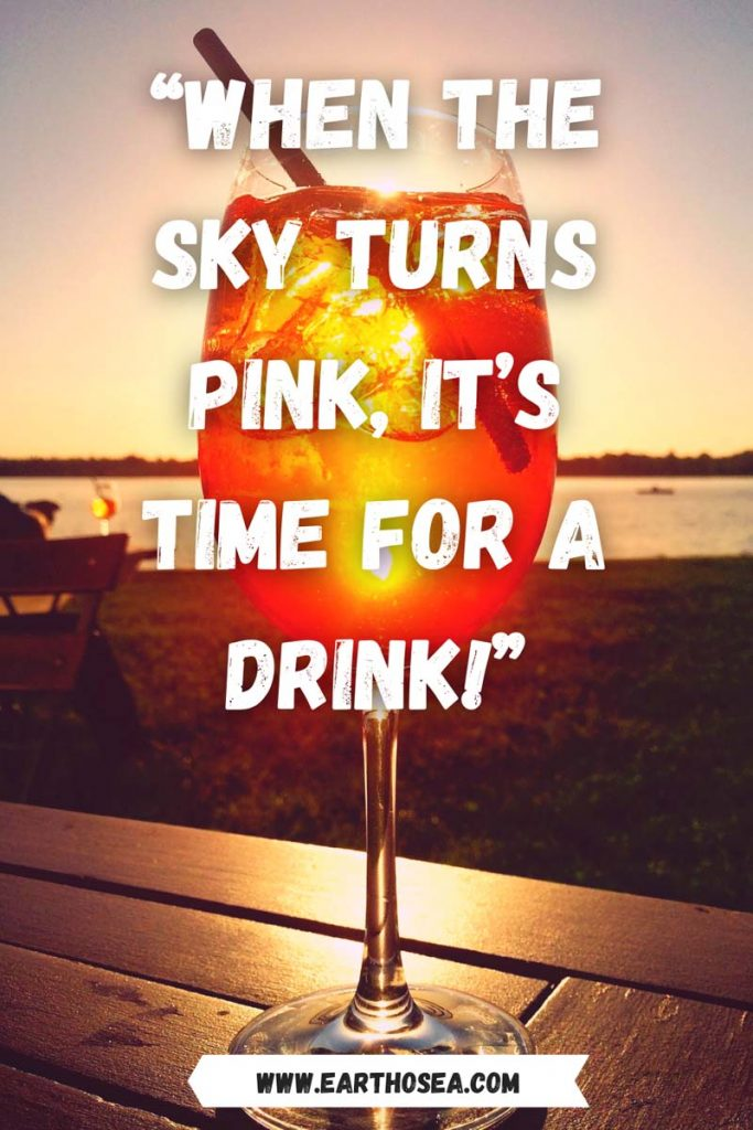 Sunset quotes party