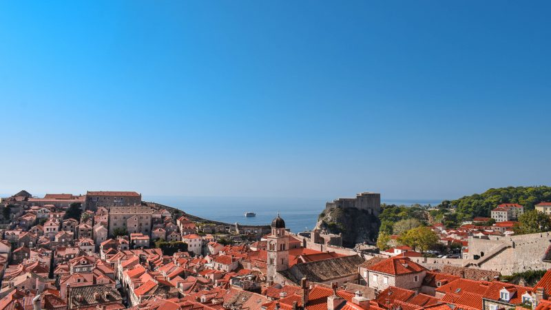 Dubrovnik-fortress-view